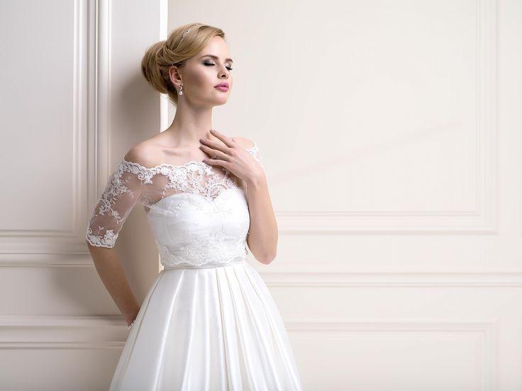 Black wedding dress topper