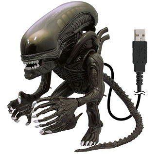 USB Alien Action Figure Collectible  - http://geekarmory.com/alien-action-figure-collectible-usb-pc-mac-laptop/