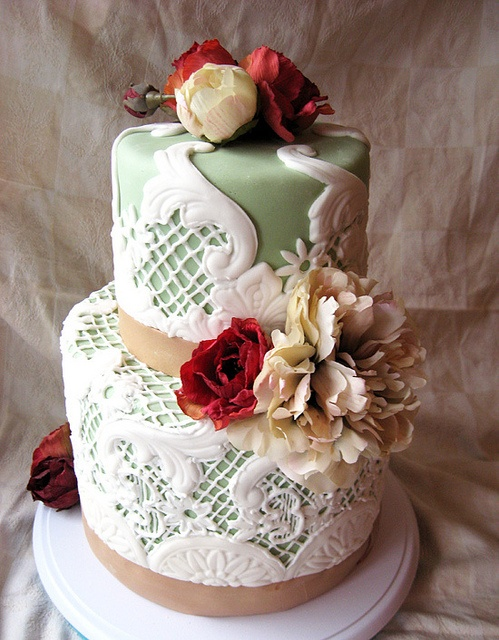 49 best ideas about Fondant Lace on Pinterest Lace cakes ...