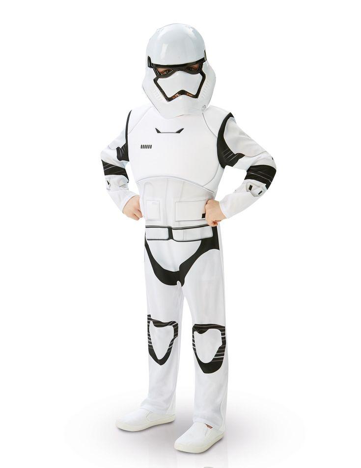 Costume de Stormtrooper pour garçon sous licence officielle sur Deguisetoi.fr, leader sur le net des articles de fêtes en tous genre.