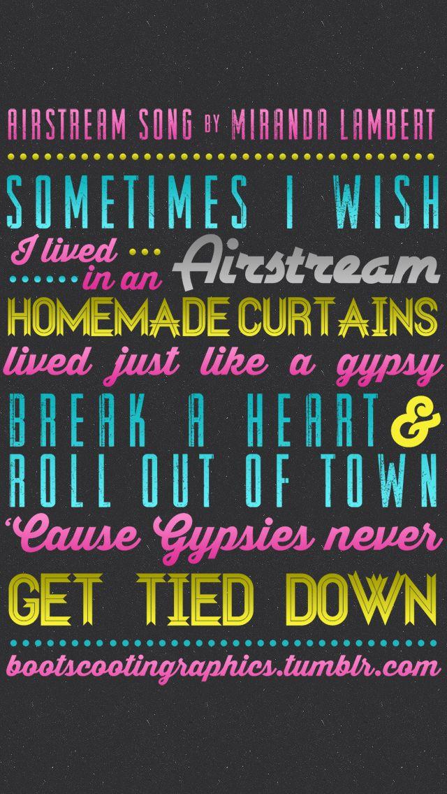 Miranda Lambert-Airstream Song Lyrics - YouTube