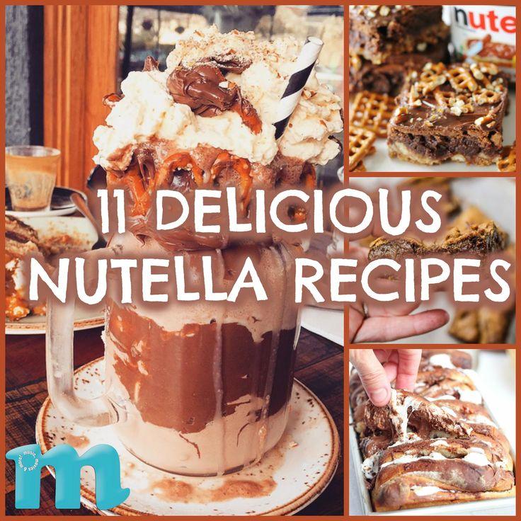11 Delicious, Over-the-Top Nutella Recipes #DIY