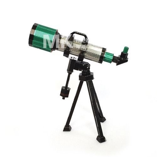 Metal In Korea Telescope Actual Color 3D Innometal Steel Metal Model Puzzle #MetalInKorea3DInnoMetal