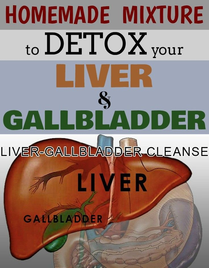 Homemade mixture to detox your liver and gallbladder.
