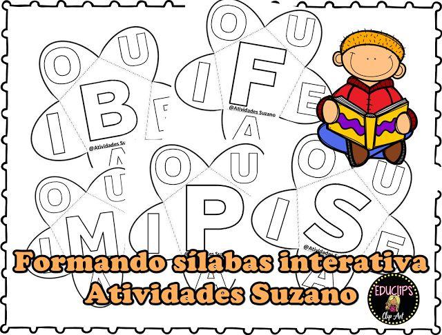 Formando sílabas interativa - Atividades Adriana