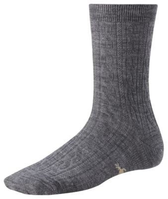 Smartwool Womens Cable Sock MdGray Heather size Mshoe size 795 *** Check out the image by visiting the link.