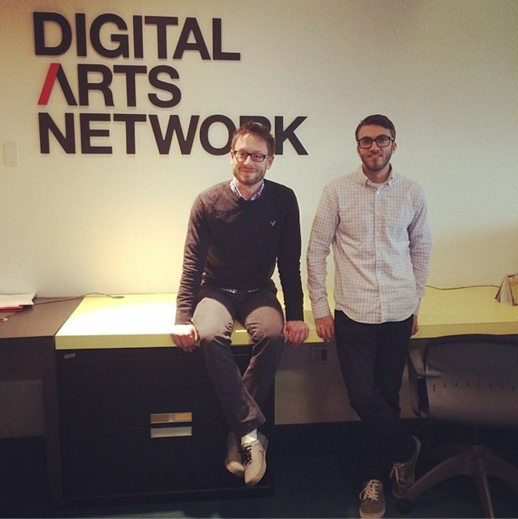 Meet Ryan and Kyle from our Digital Arts Network. They know how to work an Internet.