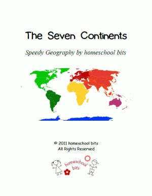 Speedy Geography: The Seven Continents
