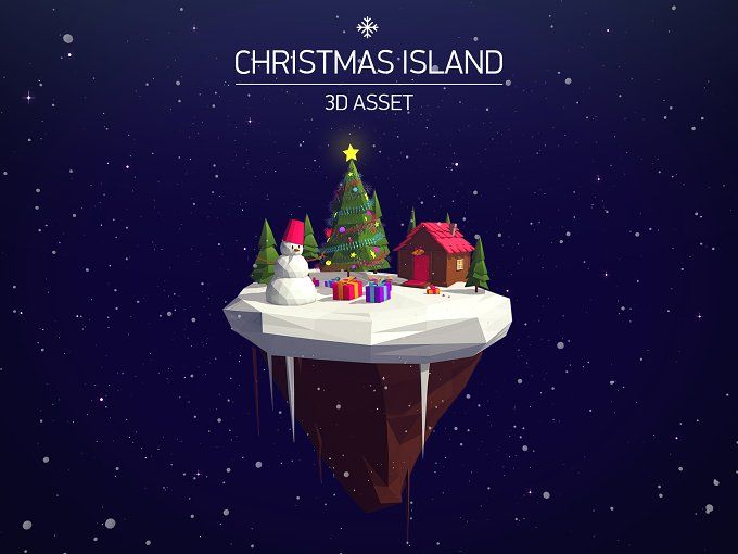 Christmas Island Asset by Polygonia on @creativemarket