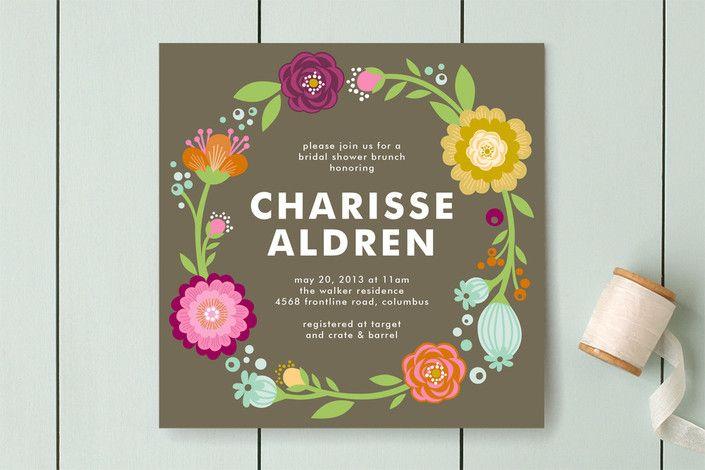 Cheap Bridal Luncheon Invitations