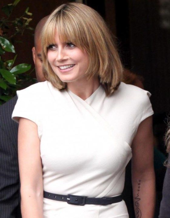 Heidi Klum Kurze Haare Frisuren Trendfrisuren2019 Frisurideen