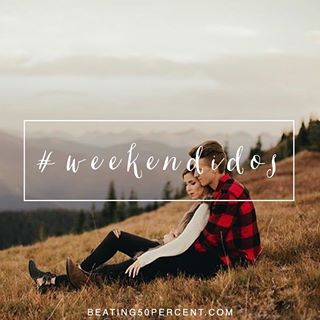 Be intentional this weekend! Don't let it be just another routine Saturday. Do something for your spouse that's choosing love, big or small. Buy them their favorite wine, make the bed for them, schedule a massage, etc... Do something a little Extra for them this weekend! #stayingido Hashtag your #weekendidos so the community can search them and get some ideas! #beating50percent @luketakesphotos