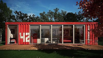 20FT/40FT custom shipping container house home office cabin 415USD ...