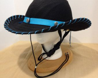Equestrian Helmet Cover Western Cowboy Style by RodeAppleHats
