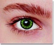 Smaragd Green - Farbige / Bunte Kontaktlinsen von eyebooster.com
