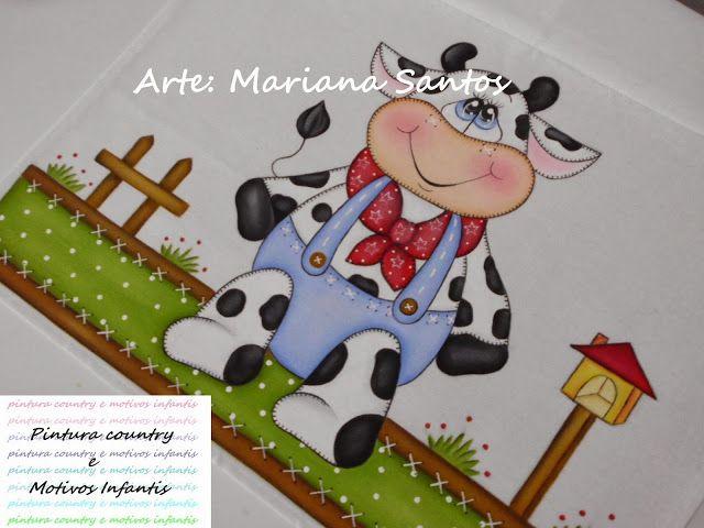 Artes Mariana Santos: Vaquinha Country 2