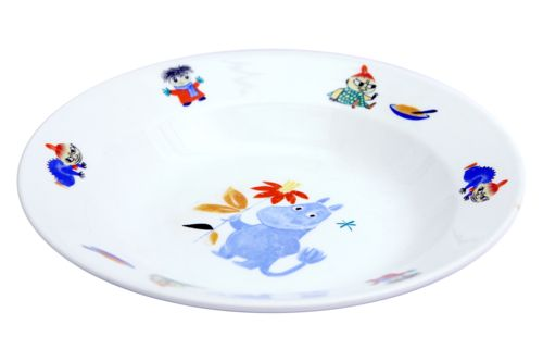 The original 1950s Moomin plate