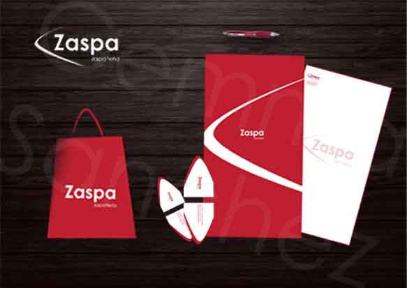 Papeleria zapateria zaspa. Creado adobe photoshop, Illustrator