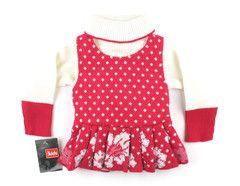 3-6m / Cream and pink sweater -NEW / Chandail crème et rose -NEUF | Changeroo.ca