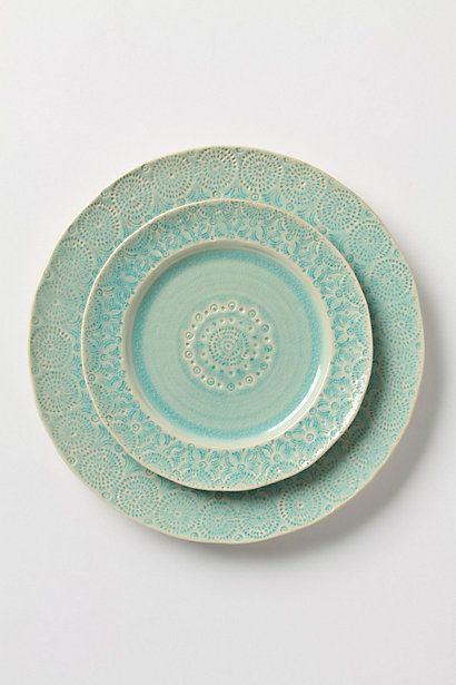 Old Havana Dinnerware - New stoneware pieces made with a beautiful vintage appearance...