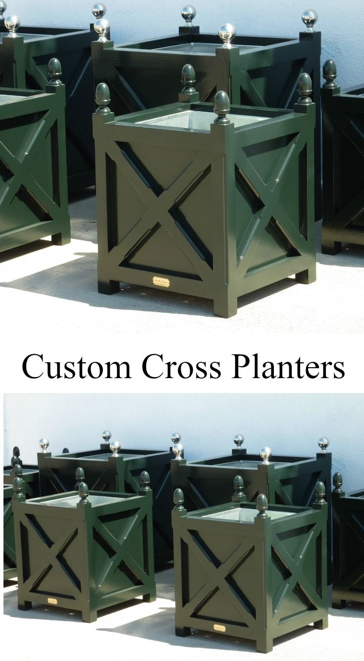 Custom Cross Planters By Accents Of France