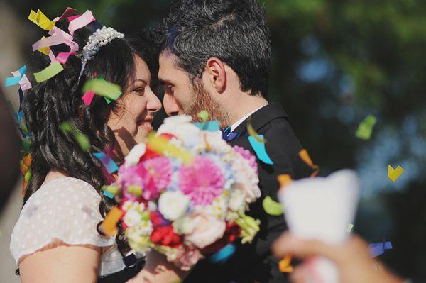 Colorful Outdoor Italian Wedding - Bella Paris Designs