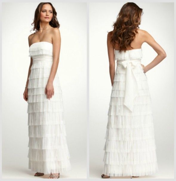 Rustic Wedding Gowns By Ann Taylor Under $900 Would be way cute for a country wedding!!!