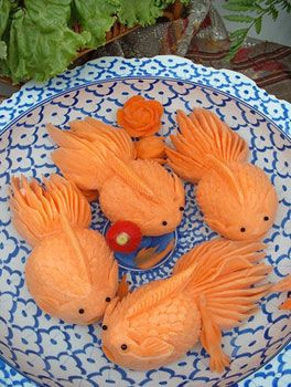The Exquisite Art of Food Carving - China culture
