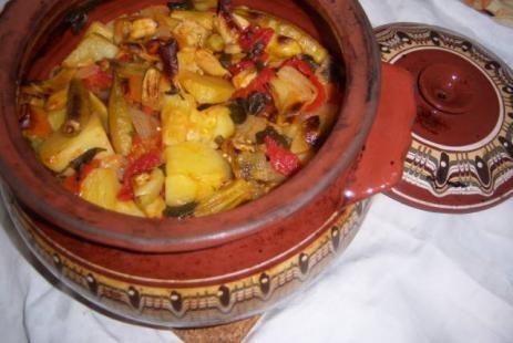Гювеч овощной с баклажанами рецепт - гювеч овощной рецепт :: JV.RU