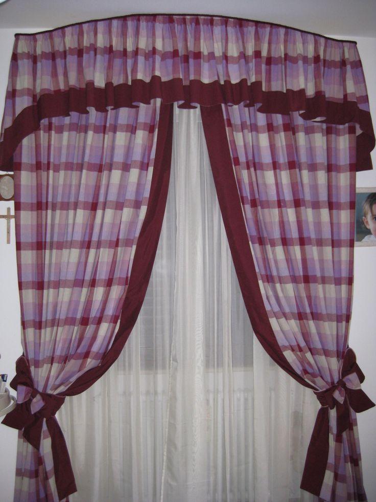 Oltre 1000 immagini su tende e coordinati su pinterest - Mantovana letto ...