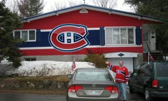 Looks like someone's a Habs fan...wow. thats amazing