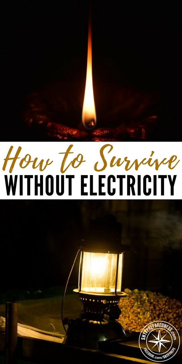 How to Survive Without Electricity