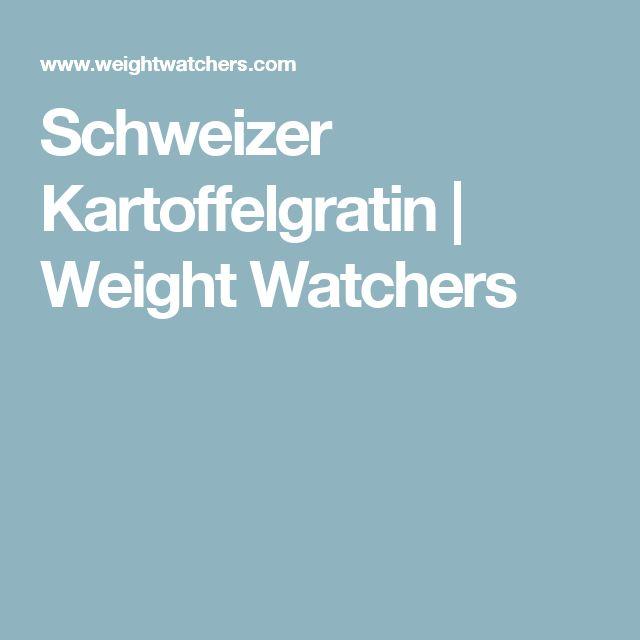 Schweizer Kartoffelgratin | Weight Watchers