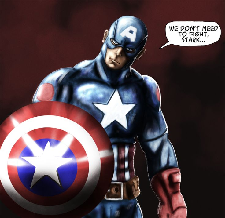 Captain America Civil War by weroidiota.deviantart.com on @DeviantArt
