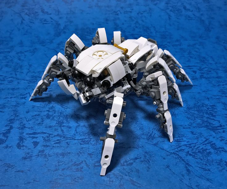 """""""LEGO Mecha Jumping Spider-09"""" by ToyForce 120: Pimped from Flickr"""