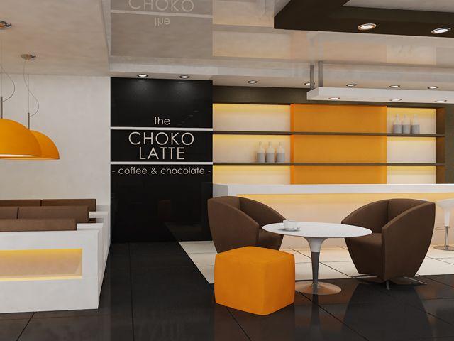 Разработка интерьера кафе