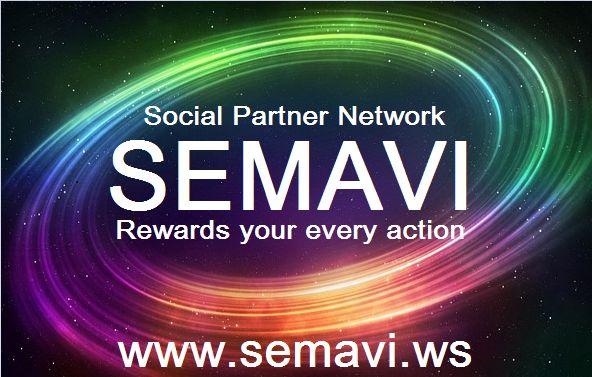 В группе будут описаны все нововведения в социально - партнёрской сети SEMAVI.