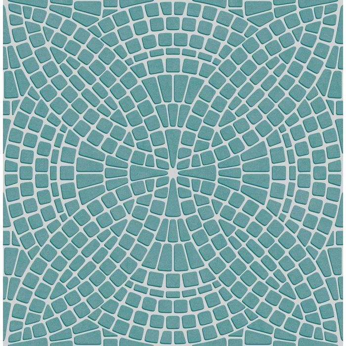 Mosaic Tile Effect – Teal