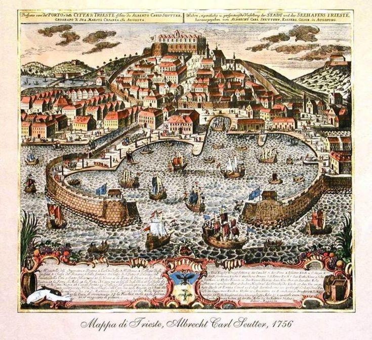 Pin di mario valenta su Trieste nel 2020 Trieste, Mappe