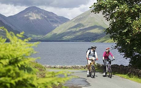 The Lake District is a centre for mountain biking, with new routes at the Forestry Commission properties of Grizedale and Whinlatter