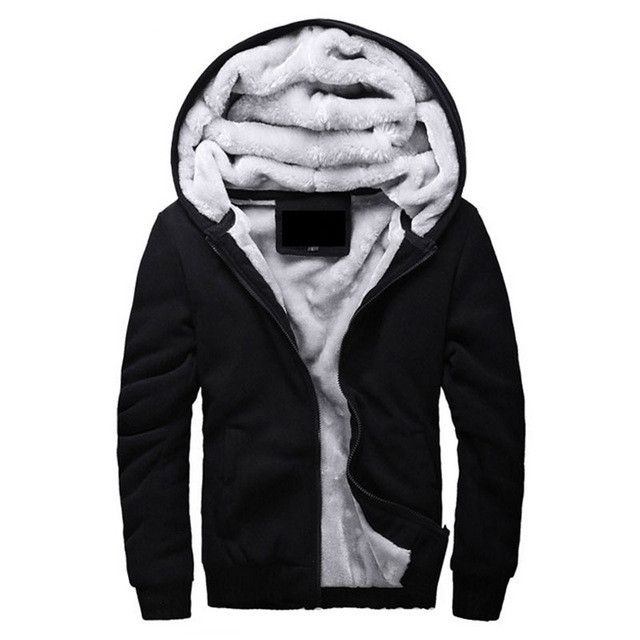 Brand Clothing 2017 Mens Hooded Hoodies Men Sweatshirt Fashion Hoody Thick Warm Hoodie Cotton Slim Male Coat Outerwear Plus Size