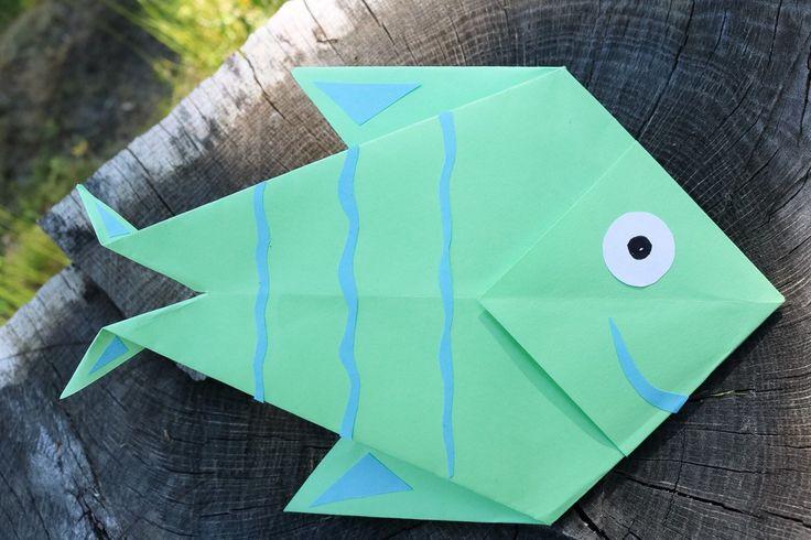 Origami - Fisk - DIY Sweden