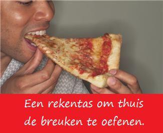 Rekentas breuken - KlasvanjufLinda.nl - vol met leuke lesideeën en lesidee