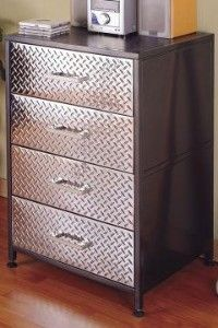 Monster Four Drawer Chest by Powell Company | Tall High Chest Drawer,