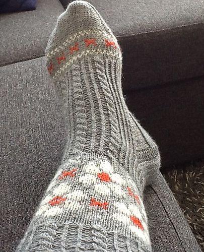 Ravelry: aase66's Daisy sokk