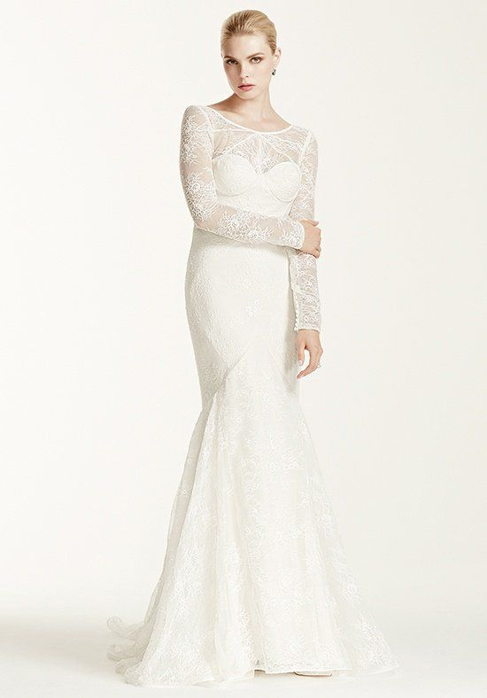 Truly Zac Posen at David's Bridal Truly Zac Posen Style ZP341506 Mermaid Wedding Dress