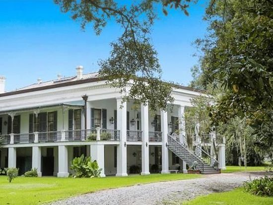 For sale: $2,450,000. Spectacular Belle Alliance plantation, meticulously restored, sits on 10.5 lush acres along Bayou La Fourche. Designed by architect Henry Howard in 1846, coveted Greek Revival center hall-style home incl. large ballroom, gracious double parlors, music rm & library; surrounded by large sugar cane fields & moss- draped Live Oak trees. Perfect as luxury residence; or business, corporate retreat, bed & breakfast, wellness center/spa. farm-to-table restaurant...