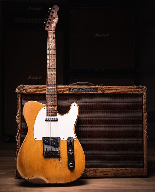 Pin By Mathieu Cléry On Amplis Fender Telecaster Fender Esquire Telecaster