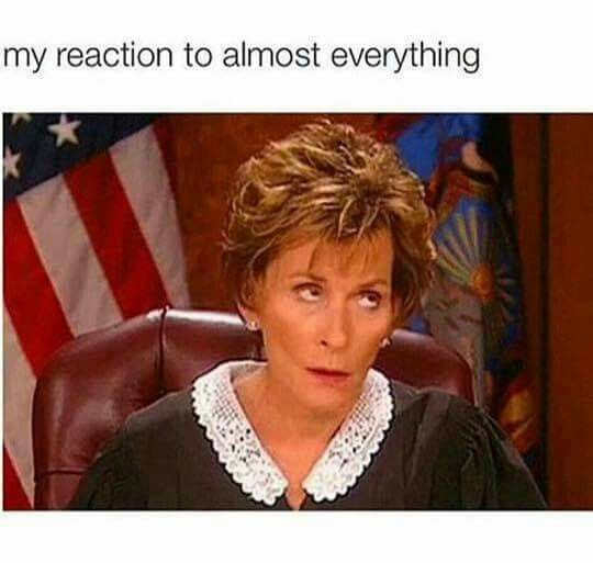 I wish Judge Judy would run for president!