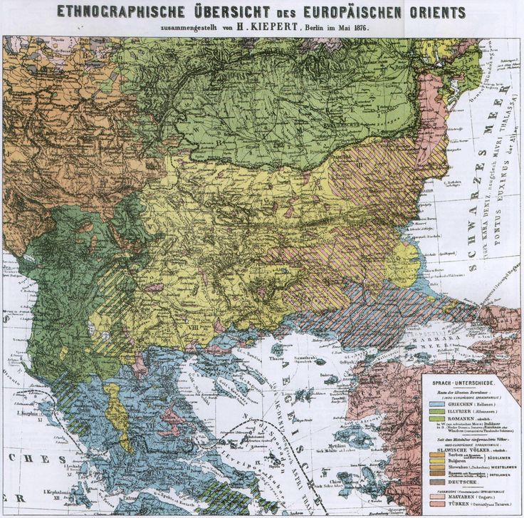Cyprus Map Vector%0A Map from the German geographer Heinrich Kiepert created in       considered  probulgarian